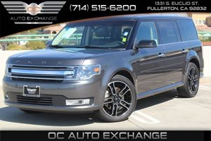 2015 Ford Flex SEL Carfax 1-Owner  Gray          29057 Per Month - On Approved Credit