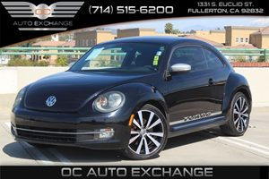 2012 Volkswagen Beetle 20T Black Turbo Launch Edition  Carfax Report - No AccidentsDamage Report
