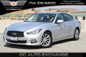 2014 INFINITI Q50 Hybrid Premium Carfax 1-Owner - No AccidentsDamage Reported  Silver