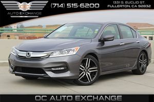2016 Honda Accord Sedan Sport Carfax 1-Owner - No AccidentsDamage Reported  Crystal Black Pear