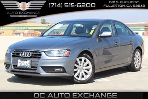 2013 Audi A4 Premium Carfax 1-Owner - No AccidentsDamage Reported  Monsoon Gray Metallic