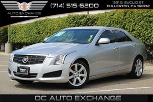 2014 Cadillac ATS Standard RWD Carfax 1-Owner - No AccidentsDamage Reported  Radiant Silver Me