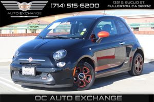 2015 FIAT 500e  Carfax 1-Owner - No AccidentsDamage Reported  Nero Puro Straight Black