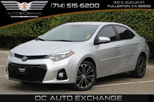 2014 Toyota Corolla S Carfax 1-Owner - No AccidentsDamage Reported  Classic Silver Metallic