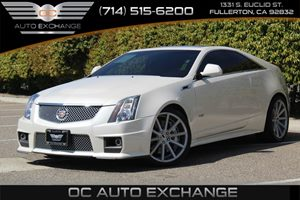 2013 Cadillac CTS-V Coupe  Carfax Report  White Diamond Tricoat -          48017 Per Month