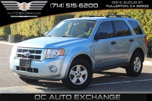 2008 Ford Escape Hybrid Carfax Report - No AccidentsDamage Reported  Light Ice Blue Metallic