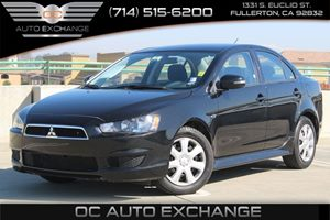2015 Mitsubishi Lancer ES Carfax 1-Owner  Tarmac Black Pearl          15893 Per Month - On A