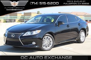 2013 Lexus ES 350 4dr Sdn Carfax 1-Owner  Black          26401 Per Month - On Approved Credi