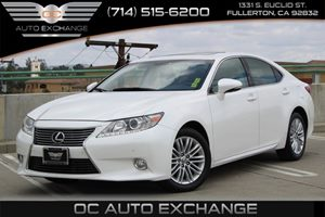 2014 Lexus ES 350  Carfax 1-Owner  White          277 Per Month - On Approved Credit