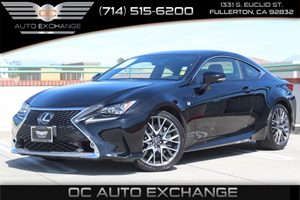 2015 Lexus RC 350  Carfax 1-Owner - No AccidentsDamage Reported  Black          48017 Per M