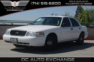 2011 Ford Crown Victoria  Carfax Report - No AccidentsDamage Reported  Vibrant White
