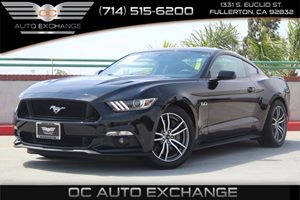 2016 Ford Mustang GT Carfax 1-Owner  Shadow Black          35377 Per Month - On Approved Cre