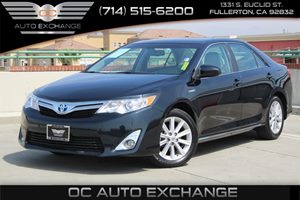 2014 Toyota Camry Hybrid XLE Carfax 1-Owner  Cosmic Gray Mica          21205 Per Month - On