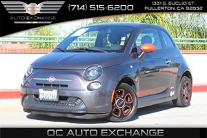 2014 FIAT 500e  Carfax 1-Owner - No AccidentsDamage Reported  Gray          11682 Per Month