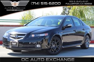 2008 Acura TL Type-S Carfax 1-Owner  Nighthawk Black Pearl          23803 Per Month - On App