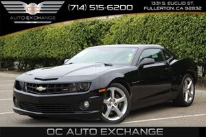 2013 Chevrolet Camaro SS Carfax 1-Owner  Black          29057 Per Month - On Approved Credit