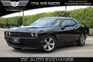 2016 Dodge Challenger SXT Carfax 1-Owner - No AccidentsDamage Reported  Pitch Black Clearcoat