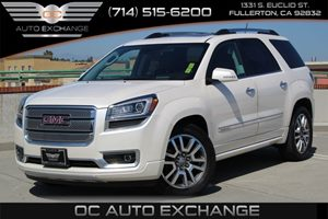 2014 GMC Acadia Denali Carfax 1-Owner - No AccidentsDamage Reported  Summit White  We are not