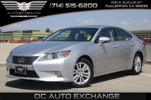 2013 Lexus ES 350 4dr Sdn Carfax 1-Owner  Silver Lining Metallic          2835 Per Month - O