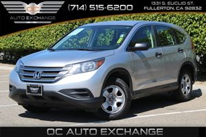 2014 Honda CR-V LX Carfax 1-Owner  Alabaster Silver Metallic          21205 Per Month - On A