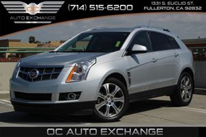 2012 Cadillac SRX Performance Collection Carfax 1-Owner  Radiant Silver Metallic          251