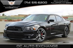 2013 Dodge Charger SRT8 Carfax Report - No AccidentsDamage Reported  Phantom Black 3 Coat Pe