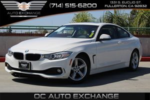 2014 BMW 4 Series 428i Carfax 1-Owner - No AccidentsDamage Reported  Alpine White          3