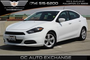 2015 Dodge Dart SXT Carfax 1-Owner - No AccidentsDamage Reported  Bright White Clearcoat