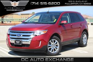 2013 Ford Edge SEL Carfax 1-Owner - No AccidentsDamage Reported  Maroon 23803 Per Month - O