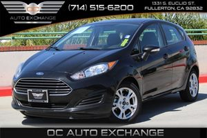 2015 Ford Fiesta SE Carfax 1-Owner  Tuxedo Black 15893 Per Month - On Approved Credit See o