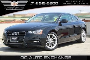 2014 Audi A5 Premium Carfax 1-Owner - No AccidentsDamage Reported  Brilliant Black