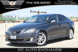 2007 Lexus IS 250  Carfax Report - No AccidentsDamage Reported  Gray          10278 Per Mon