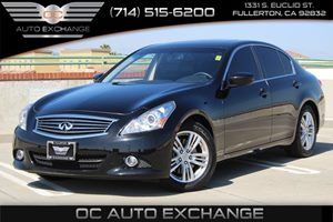 2015 INFINITI Q40  Carfax 1-Owner - No AccidentsDamage Reported  Black Obsidian          264