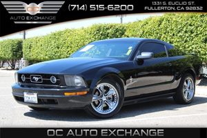 2007 Ford Mustang Deluxe Carfax Report - No AccidentsDamage Reported  Black          10278