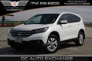2014 Honda CR-V EX Carfax 1-Owner - No AccidentsDamage Reported  White Diamond Pearl -