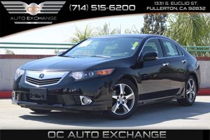 2014 Acura TSX Special Edition Carfax 1-Owner  Crystal Black Pearl          23803 Per Month
