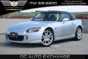 2005 Honda S2000  Carfax Report - No AccidentsDamage Reported  Sebring Silver Metallic