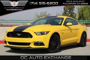 2015 Ford Mustang GT Premium Carfax Report  Triple Yellow Tri-Coat          34113 Per Month