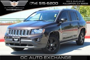 2014 Jeep Compass Sport Carfax Report - No AccidentsDamage Reported  Dk Brown          160