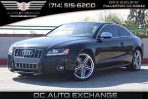 2011 Audi S5 Premium Plus Carfax Report - No AccidentsDamage Reported  Brilliant Black