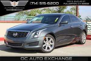 2013 Cadillac ATS  Carfax 1-Owner  Grey          21205 Per Month - On Approved Credit