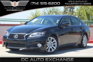 2014 Lexus GS 350  Carfax 1-Owner - No AccidentsDamage Reported  Black          32849 Per M