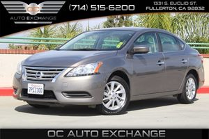 2015 Nissan Sentra SV Carfax 1-Owner - No AccidentsDamage Reported  Brilliant Silver