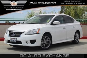 2015 Nissan Sentra SR Carfax 1-Owner - No AccidentsDamage Reported  Aspen White          186