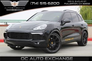 2016 Porsche Cayenne  Carfax Report - No AccidentsDamage Reported  Black          62929 Per