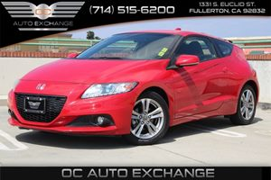 2013 Honda CR-Z EX Carfax 1-Owner  Milano Red  We are not responsible for typographical errors