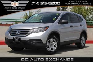 2013 Honda CR-V LX Carfax 1-Owner  Alabaster Silver Metallic          18866 Per Month - On A