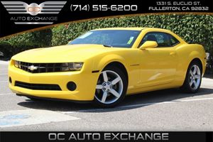 2011 Chevrolet Camaro 2LS Carfax Report - No AccidentsDamage Reported  Rally Yellow