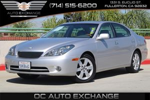 2005 Lexus ES 330  Carfax 1-Owner - No AccidentsDamage Reported  Classic Silver Metallic  We