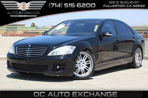 2007 MERCEDES S550 Sedan Carfax Report - No AccidentsDamage Reported  Black          25102